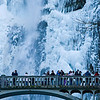 12-11-09  Iced-over Multnomah Falls  More pictures at Multnomah Falls Ice  2011 Calendar - January