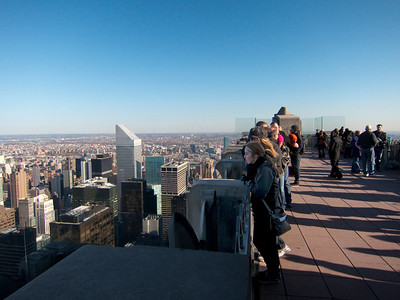 11.09.12 New York Viewing deck, Top of the Rock